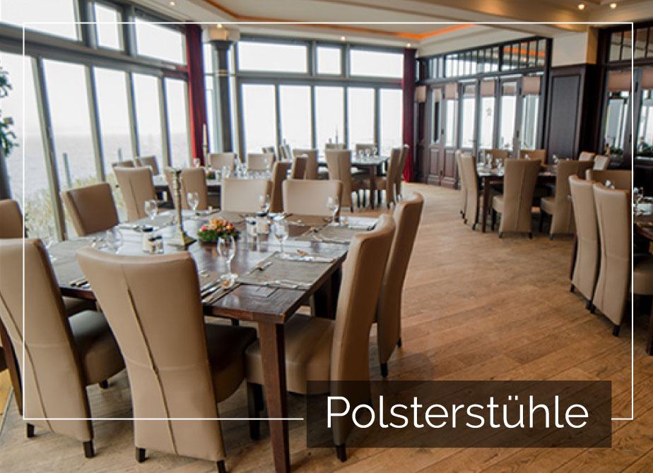 Holz & Polster-Barhocker