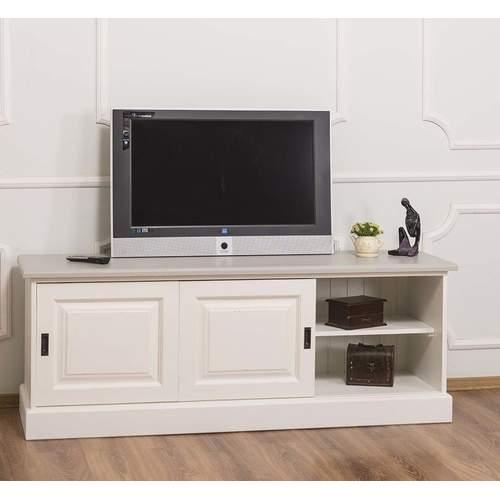 TV Lowboard weiß 160 cm im Landhausstil, 344,54 €   TV ...